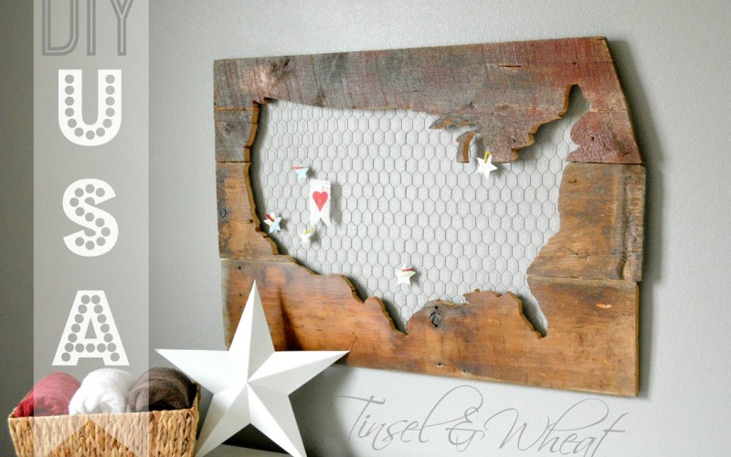 Rustic Barn Wood and Chicken Wire USA