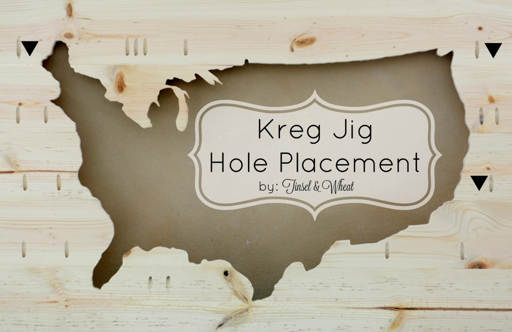 Kreg Jig Hole Placement