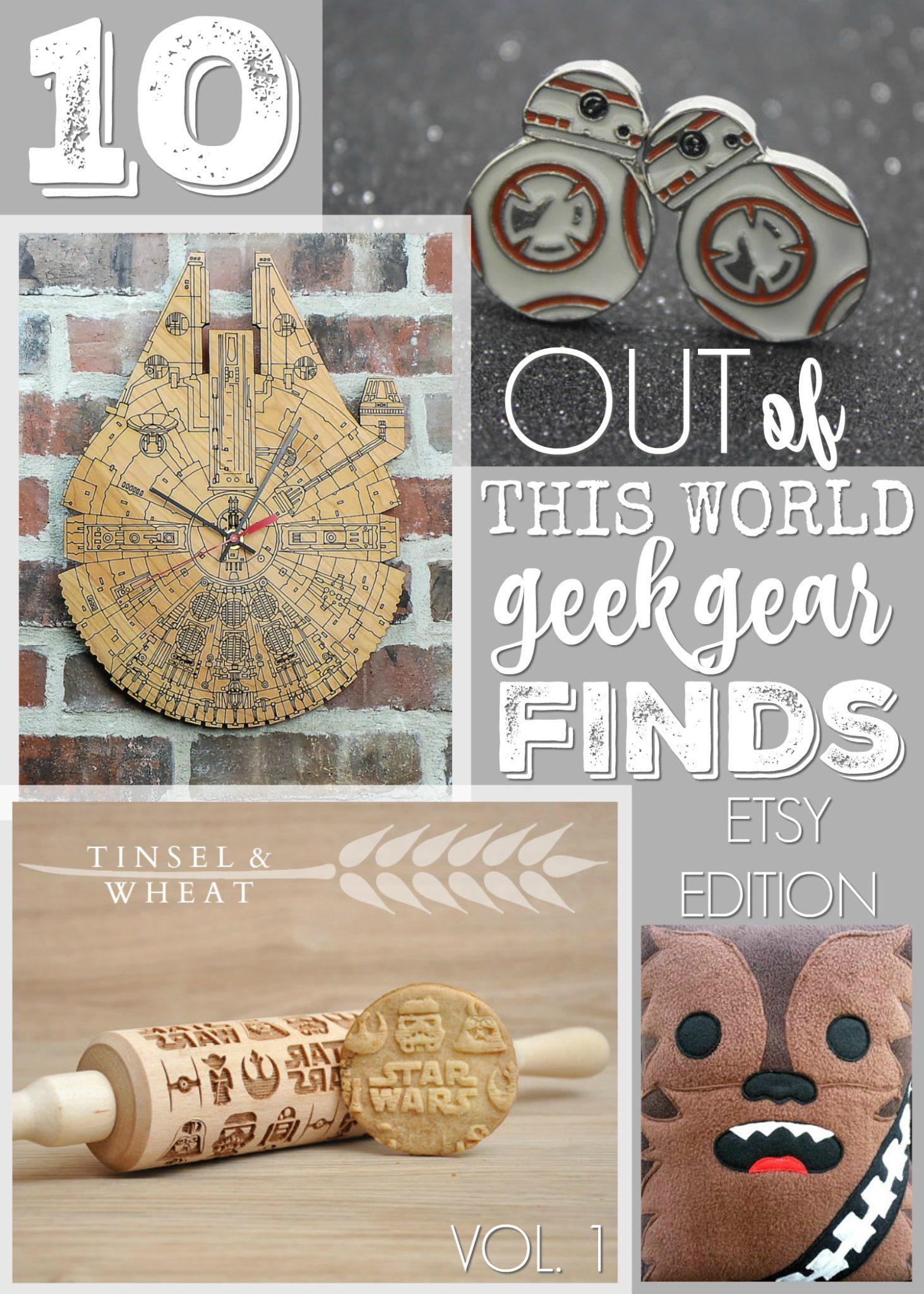 10 Star Wars Geeky Gift Ideas Etsy Edition by Tinsel & Wheat