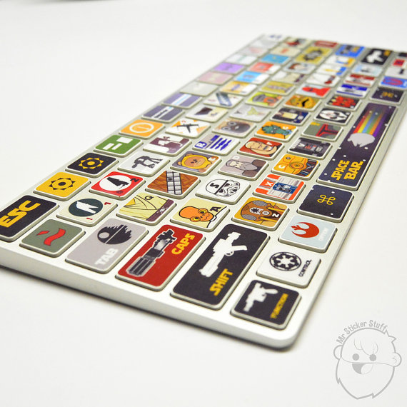 Star Wars Macbook Keyboard Cover