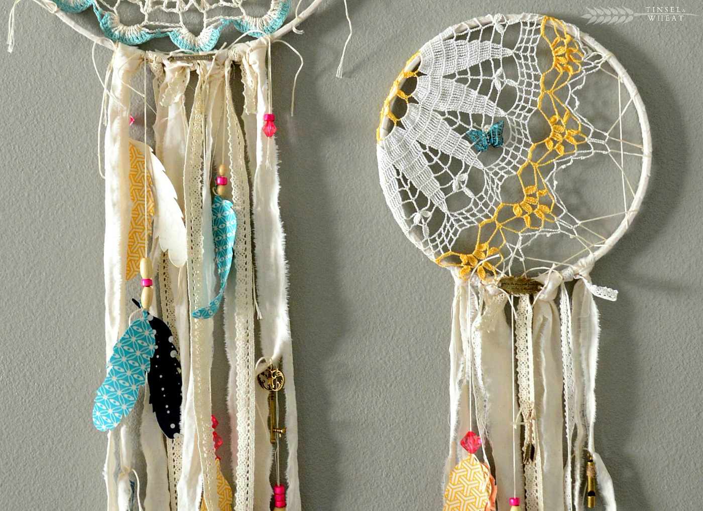 DIY Doily Dream Catcher