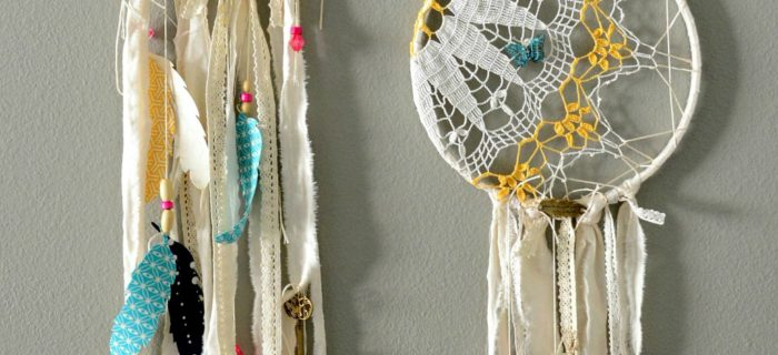 DIY Doily Dream Catchers