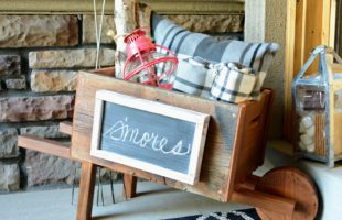 DIH Rustic Wheelbarrow