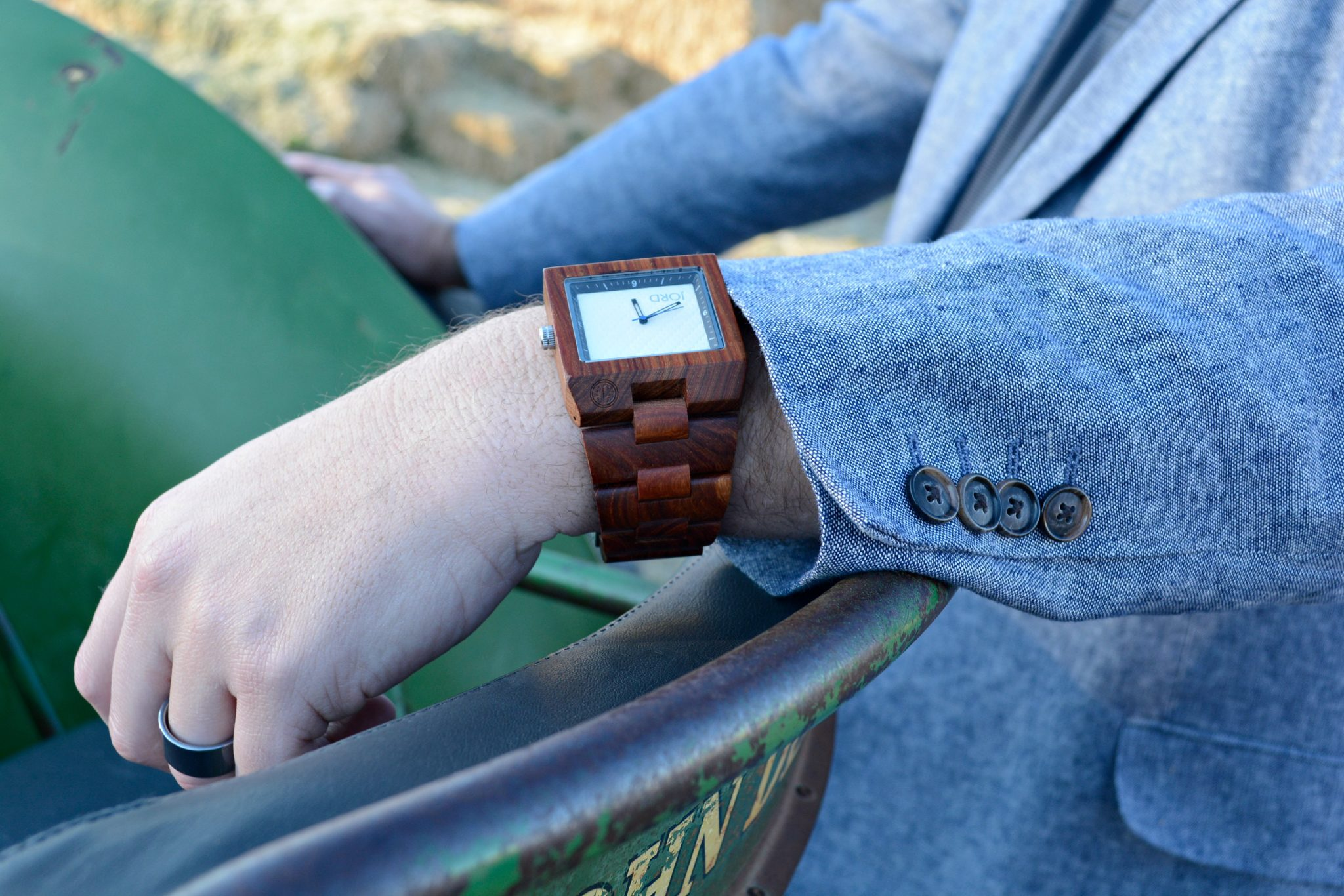 Wood Watch by Jord