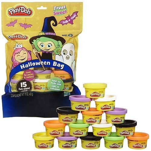 Halloween Treats Minus The Sweets - Mini Play Doh