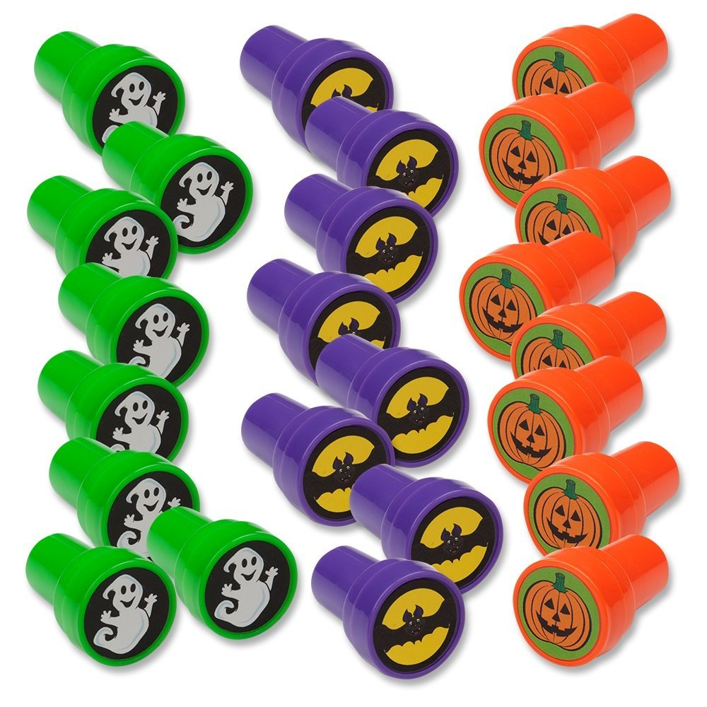Halloween Treats Minus The Sweets - Plastic Halloween Stamps