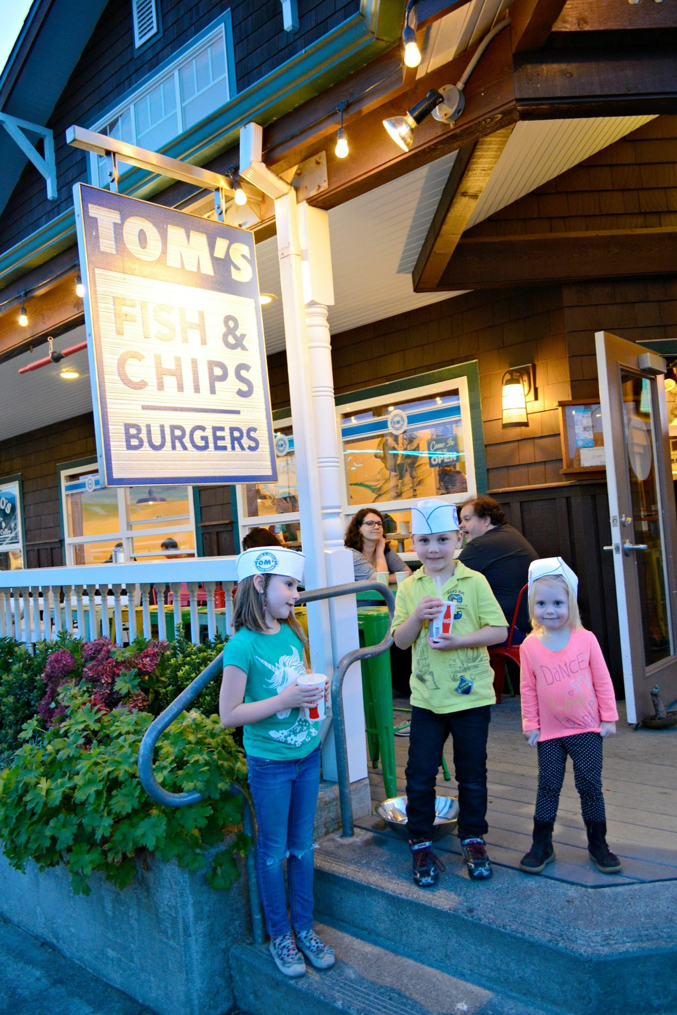 Tom's Fish & Chips in Cannon Beach Oregon
