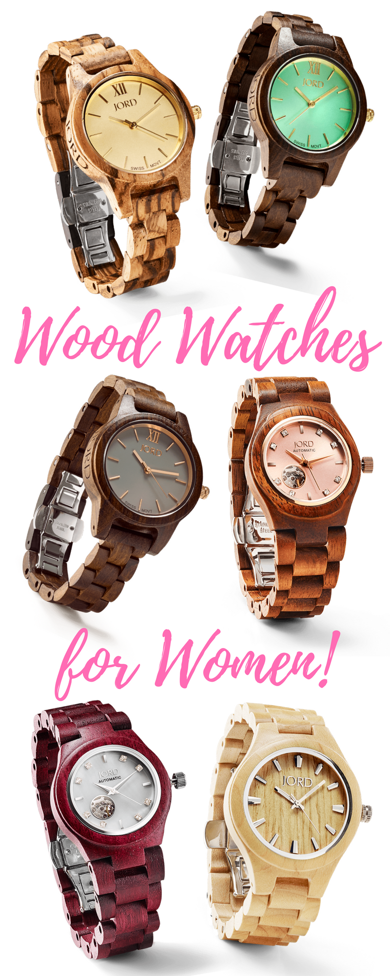 Wood Watches for Women