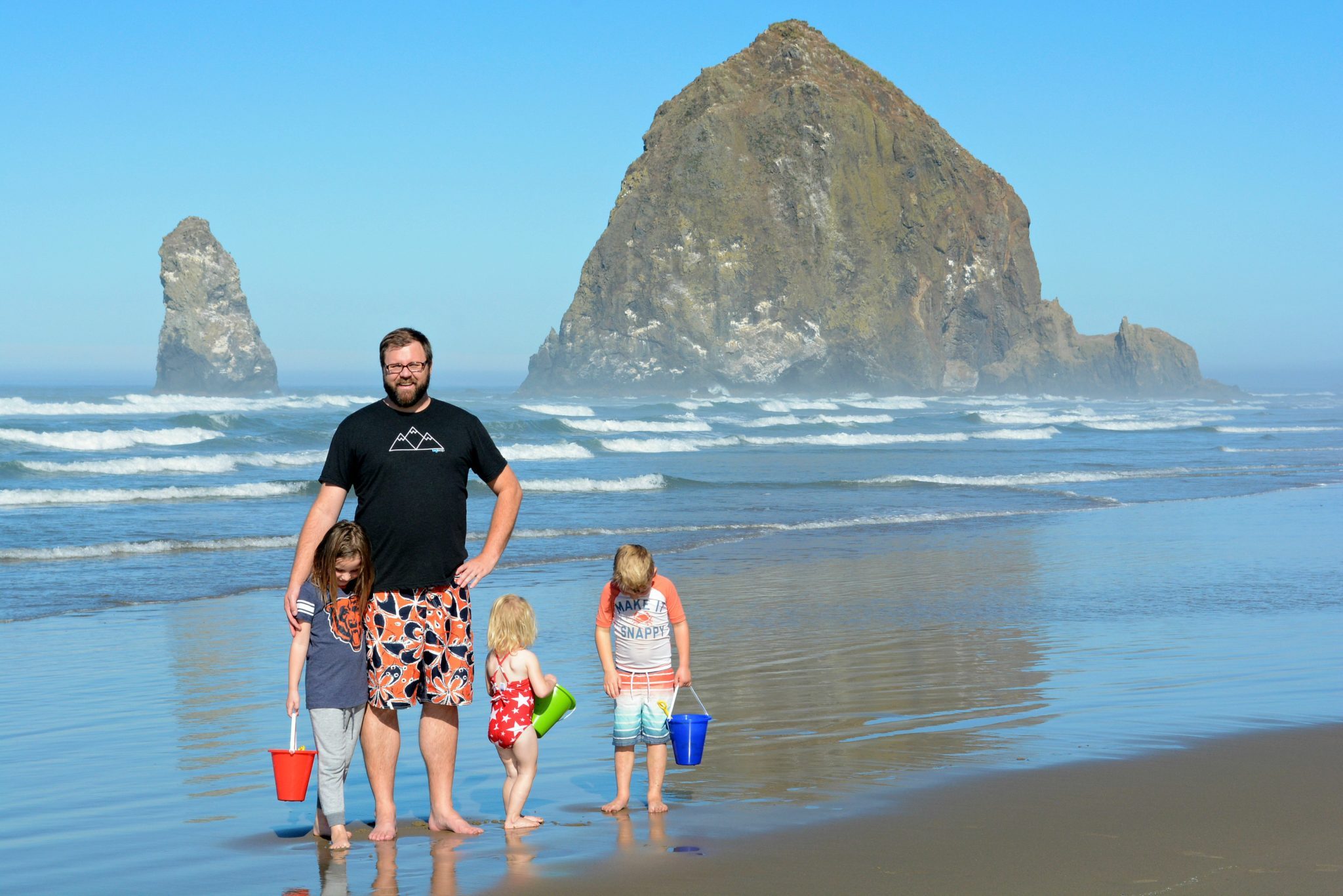 Cannon Beach Oregon Websters at Haystack Rock