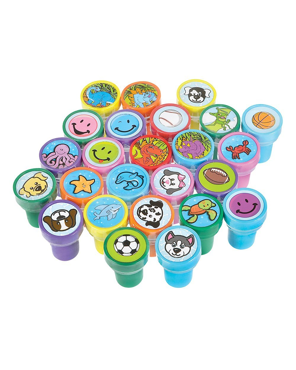 Halloween Treats Minus The Sweets - Assorted Plastic Stamps