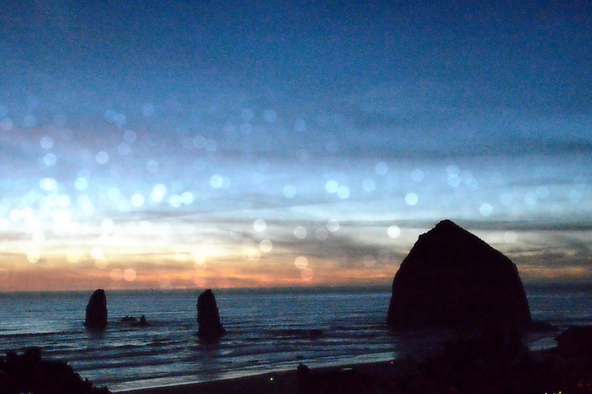 Sunset Haystack Rock