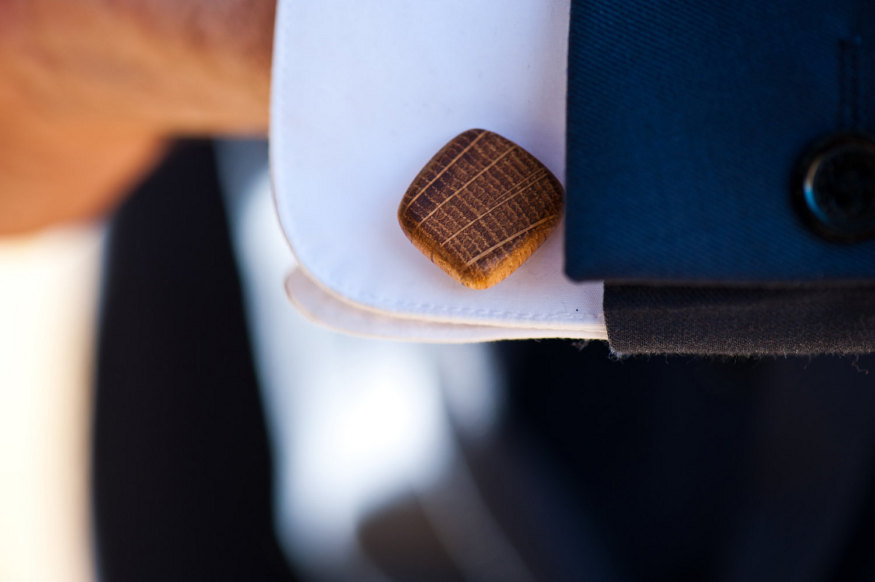 Whiskey Barrel Cuff Links