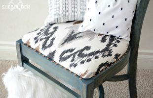 Accent Chair Makeover – Salt Lake Home Show
