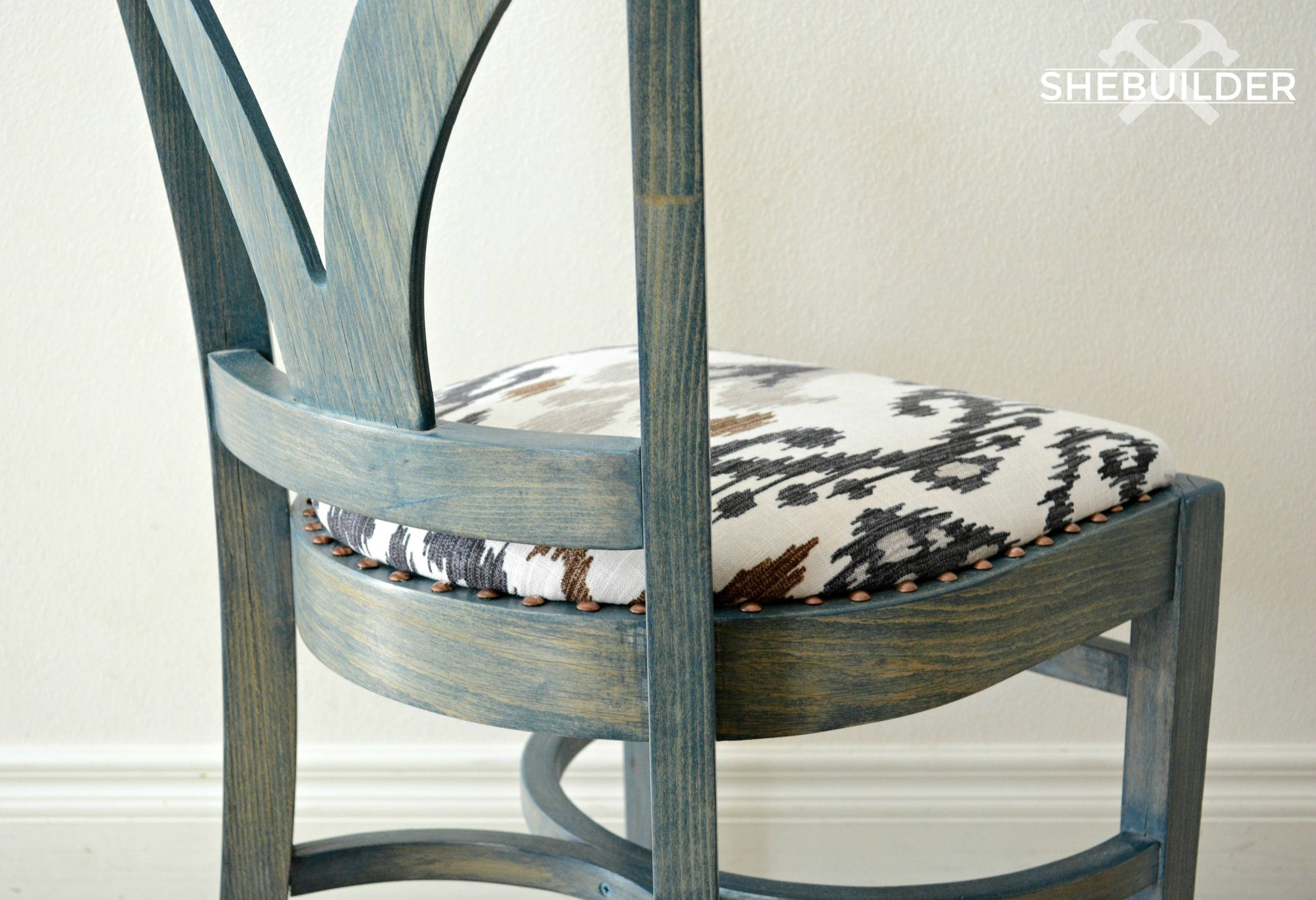 Accent Chair Makeover by Tinsel + Wheat