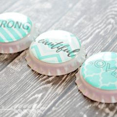 Mothers Day Bottle Cap Magnets