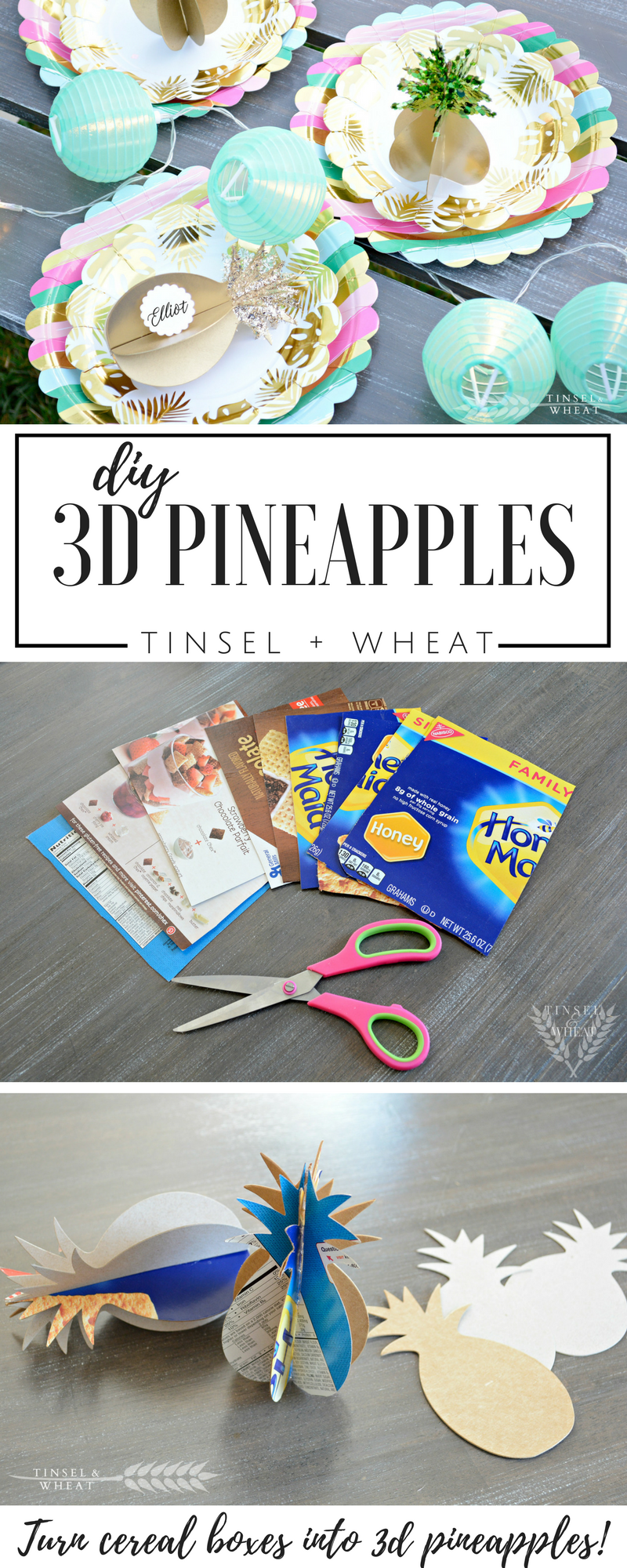 DIY Pineapples