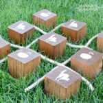 How to Make a Large Wooden Tic Tac Toe Game